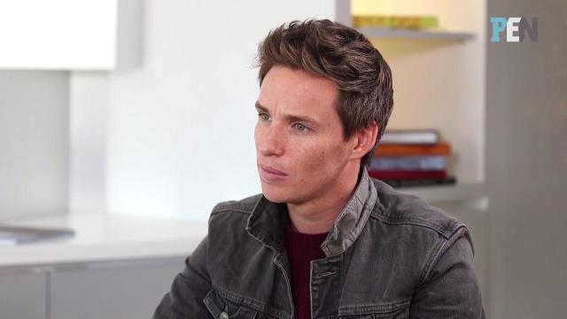 What happened during Eddie Redmayne's first meeting with J.K. Rowling