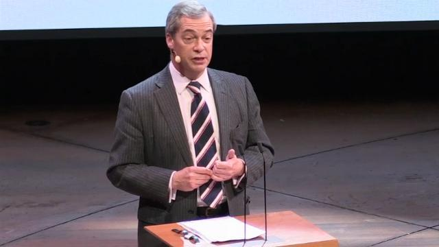 Farage: 2016 year of 'political revolution'