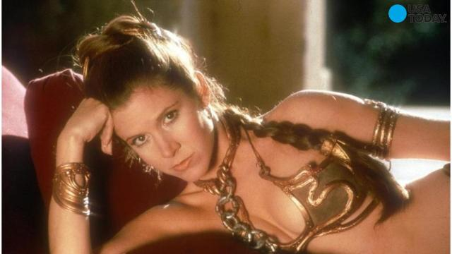 Carrie Fisher says she had an affair with Harrison Ford while filming 'Star Wars'