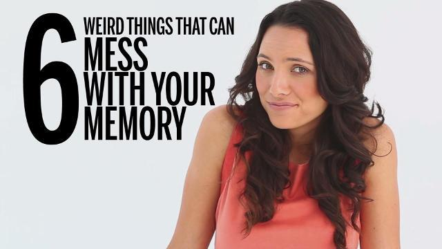 6 weird things that can mess with your memory