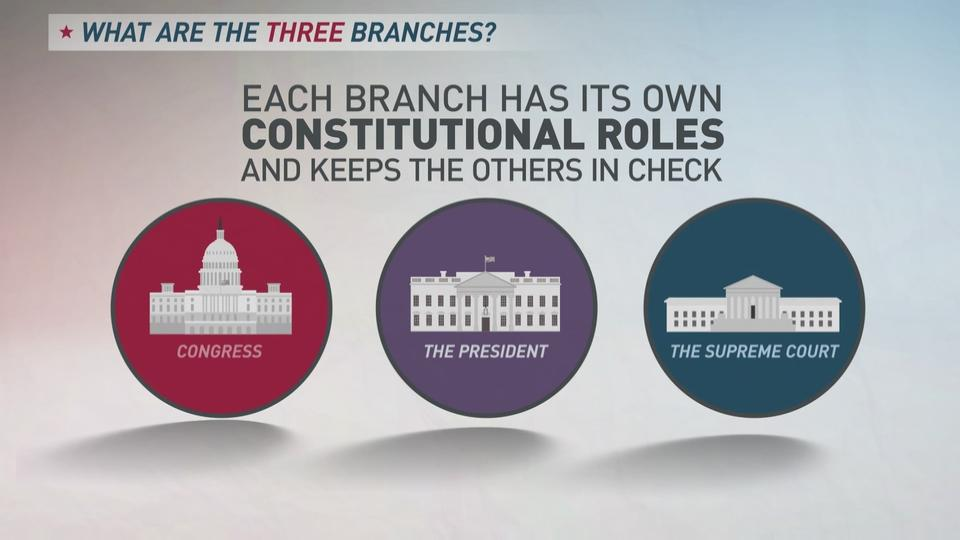 explaining the 3 branches of government in 60 seconds