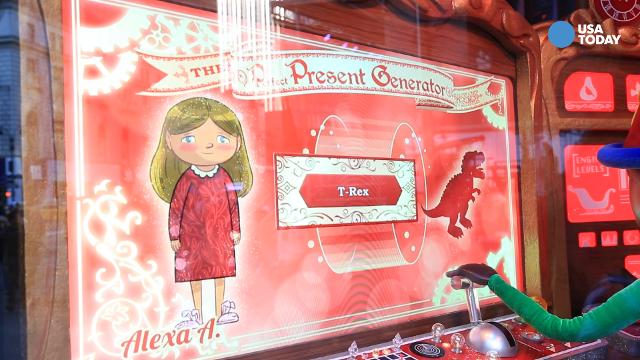 Catch a sneak peek at Macy's holiday window display in 2016
