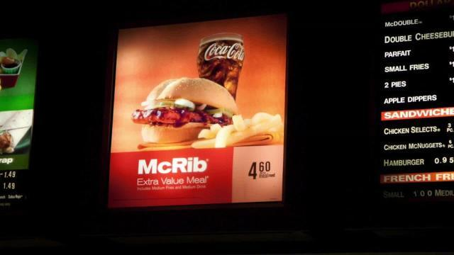 New app helps people find McRibs