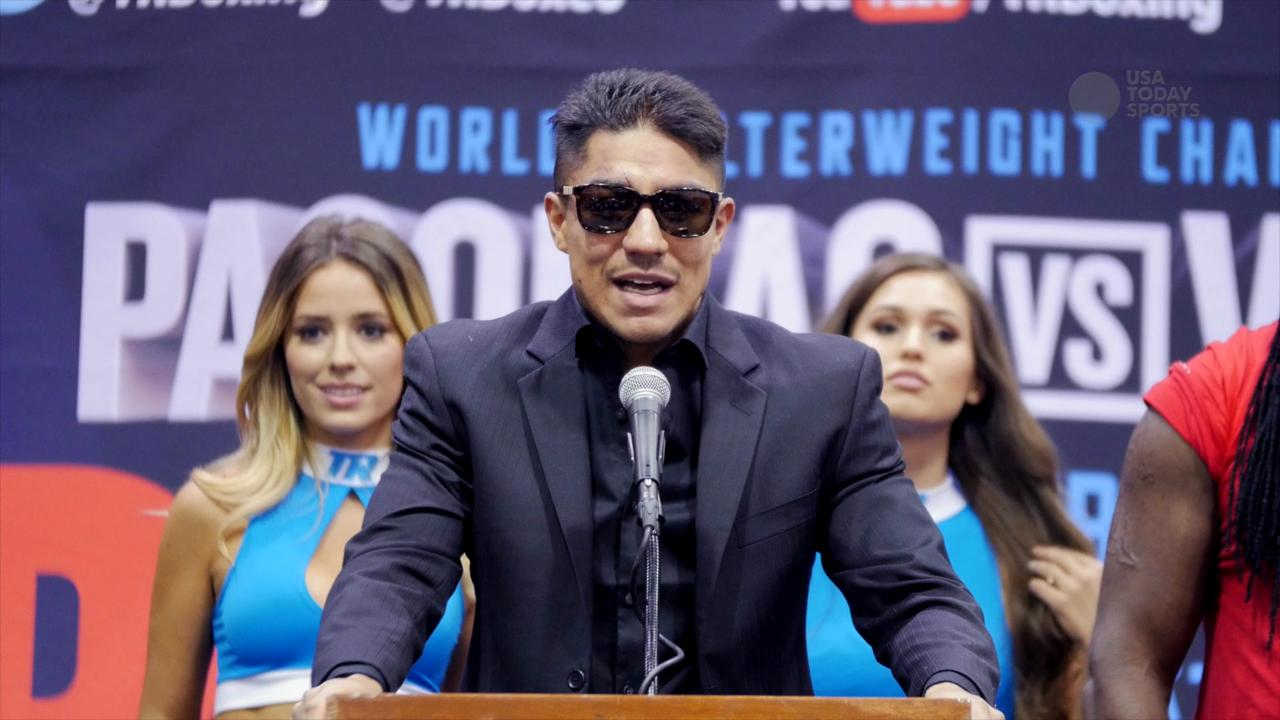 Manny Pacquiao won the WBO welterweight title on Saturday night, taking the belt from Jessie Vargas.