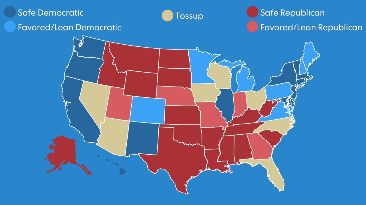 Here's how the election will unfold