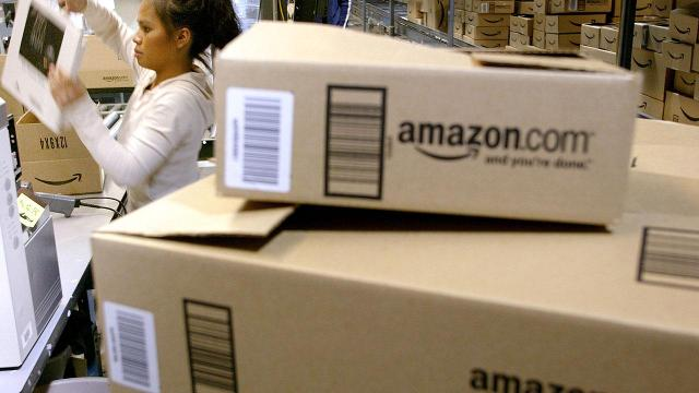 Cyber Monday in an Amazon fulfillment center