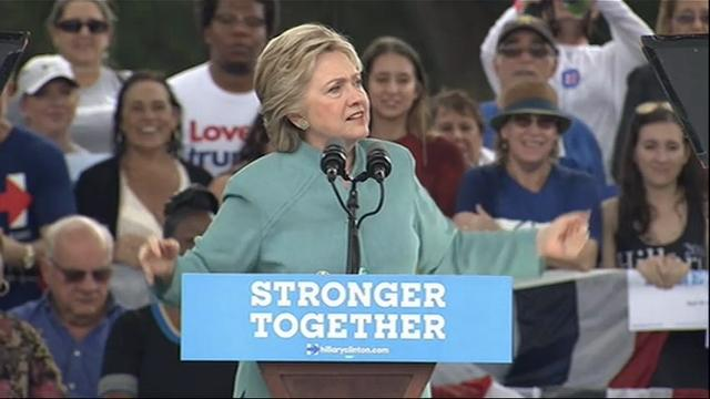 Clinton Targets African-American Votes in Fla.