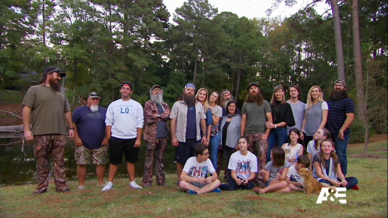 The Robertson family says the final season will be their best season yet on A&E.