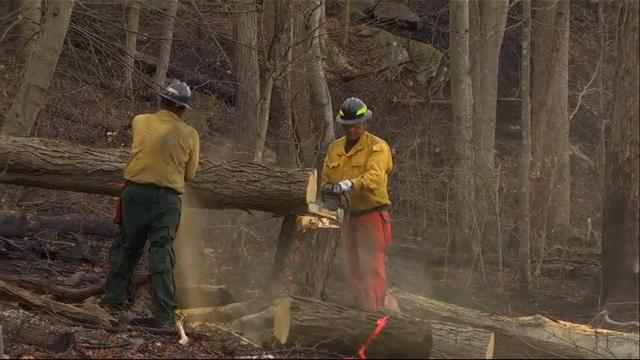 AP Exclusive: National park in Tenn. after fire