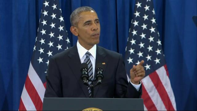 Obama: Strategy breaking the back of extremists