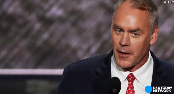 Ryan Zinke Trumps reported pick for Interior secretary