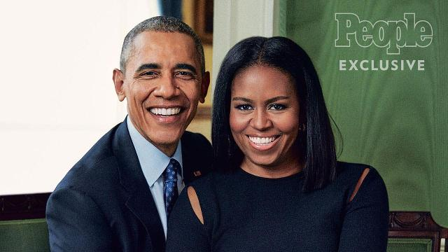 The Obamas chat about the White House bringing them closer together