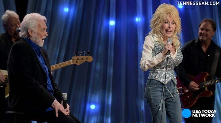 Country legends come together for Dolly Parton's Smoky Mountains telethon