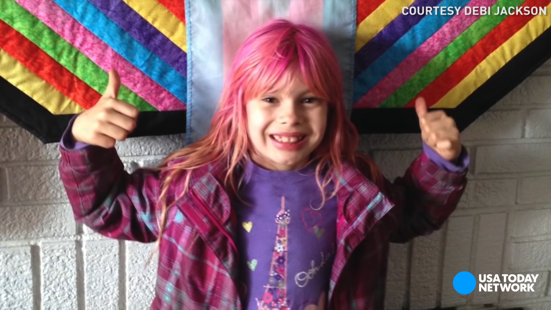 Transgender girl makes history on 'National Geographic' cover