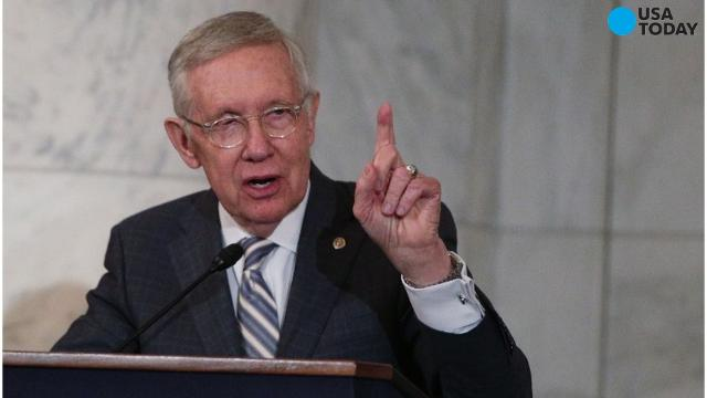 After a 34 year career in politics, Democratic stalwart Harry Reid from Nevada is retiring from the United States senate. Reid has been the Democratic leader for over a decade. He is leaving just as Republicans have taken control of the White House and continued their hold on the legislative branch. Former Democratic presidential candidate Hillary Clinton gave a speech in Reid's honor, praising how he never forgot where he came from and how hard he fought for average americans every single day.