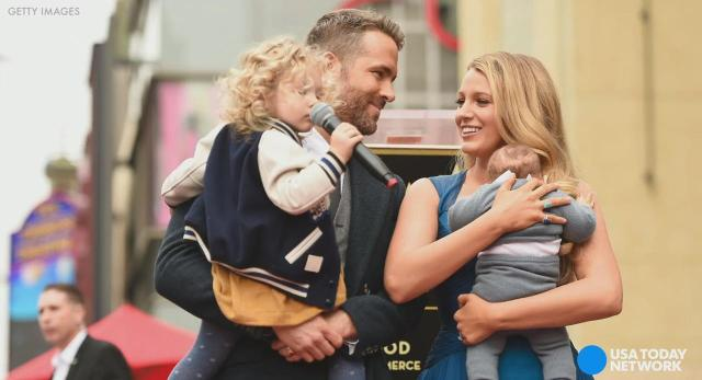 Ryan Reynolds, Blake Lively's daughters make public debut