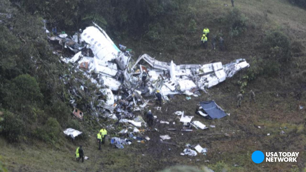 In a recording of the pilot's last conversation with air traffic control, the pilot is heard saying the plane is out of fuel and in electrical failure. The plane was carrying Brazil's Chapecoense soccer when it crashed. Nearly everyone on board died.