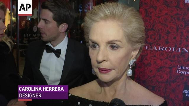 Carolina Herrera: It would be an honor to dress Melania Trump