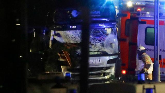 9 dead after truck crashes into Christmas market in Berlin