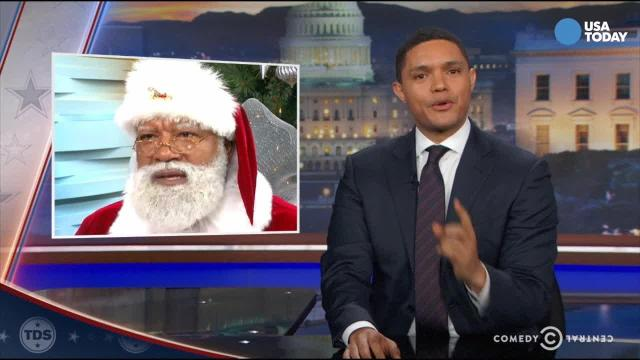 Punchlines: Backlash over black Santa?