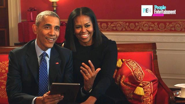 Watch cute kids interview the Obamas