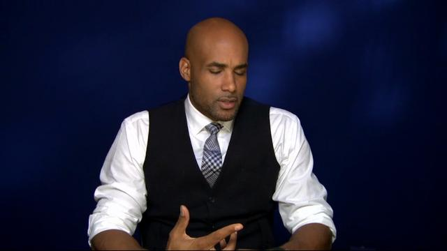 Boris Kodjoe says he has an edge in learning medical terms for his 'Code Black' series and talks about Sophie's Voice Foundation he and wife Nicole Ari Parker created in honor of their daughter who was born with spina bifida. (Dec. 7)