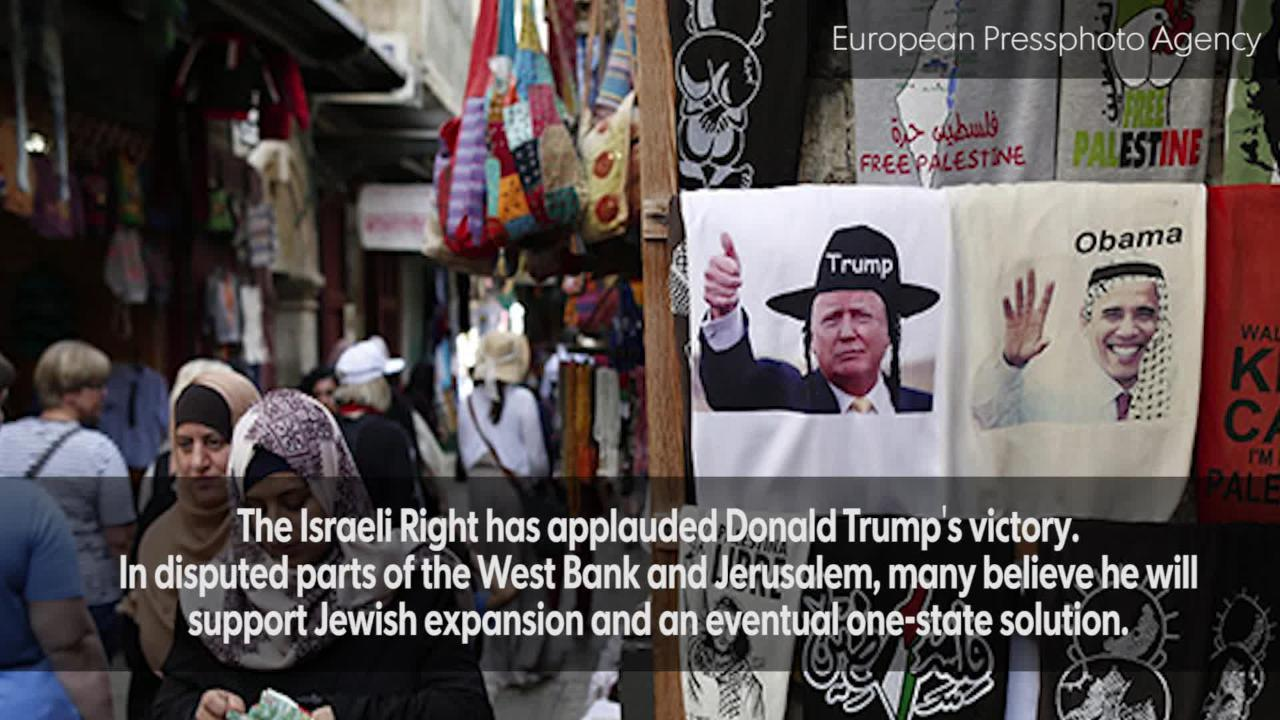 Settlers in the West Bank hopeful as Trump prepares to take over the White House