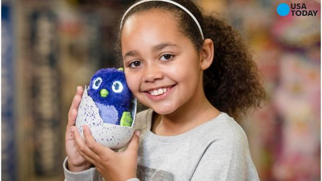 One of the season's most sought-after toys: Hatchimals