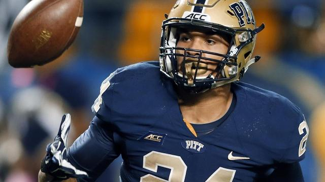 Pitt RB James Conner declares for NFL draft after beating cancer