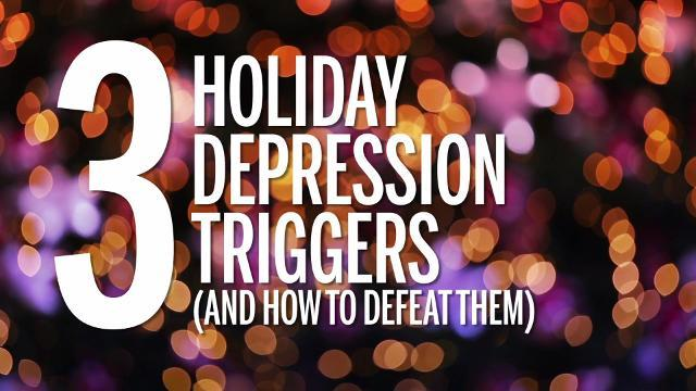 how to avoid depression triggers