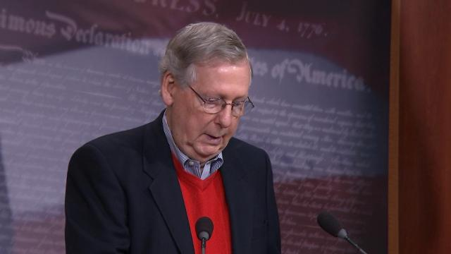 McConnell: 'The Russians are not our friends'