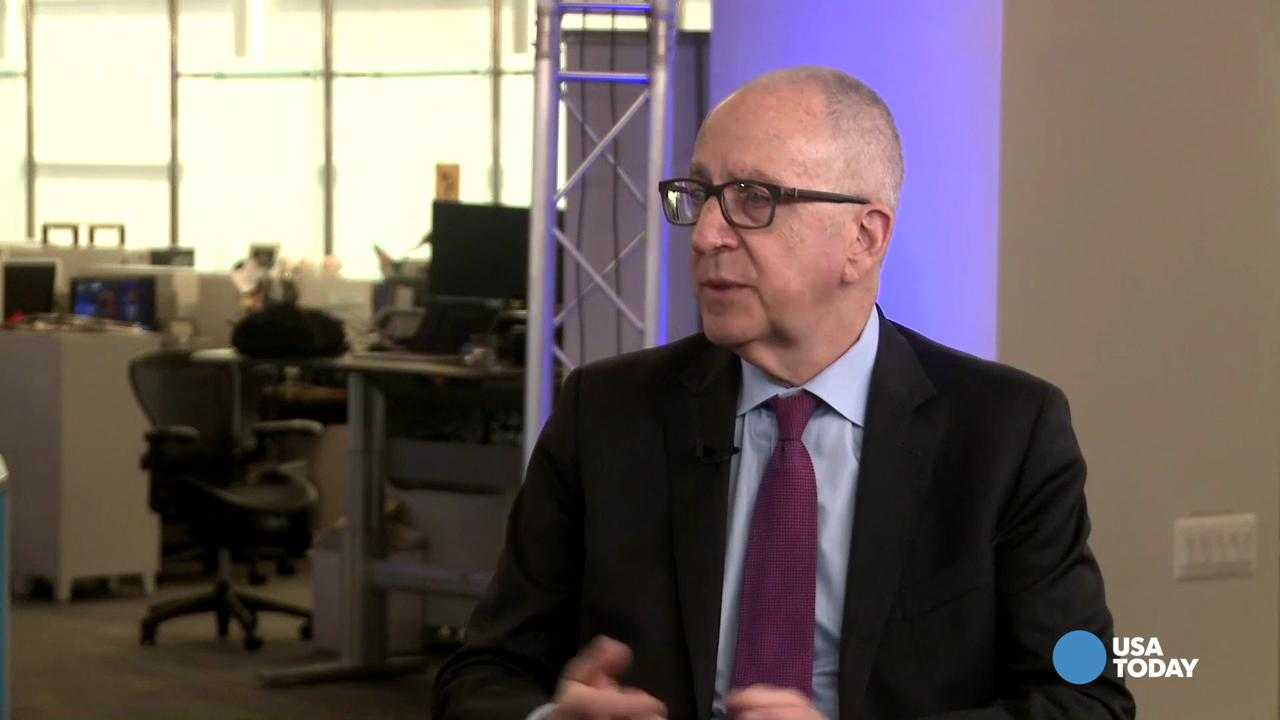David Skorton talks to USA TODAY Editorial Page Editor Bill Sternberg about the Smithsonian Institution's future, its use of technology to attract younger visitors, and desire to highlight contributions of women and Latinos within existing museums.
