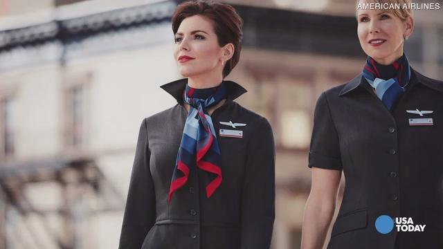 American Airlines flight attendants say their new uniforms are making them sick.