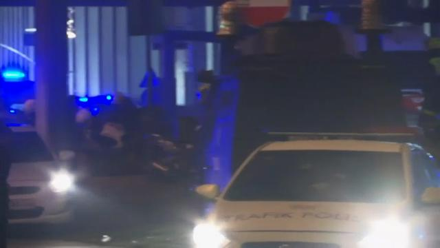 Raw: Twin Blasts Near Stadium Rock Istanbul