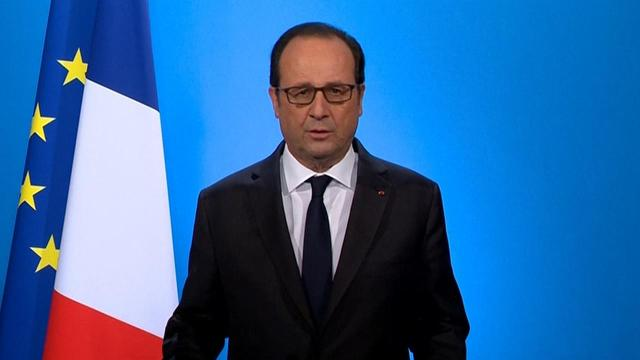 France's Socialist President Francois Hollande says he will not seek re-election next year.