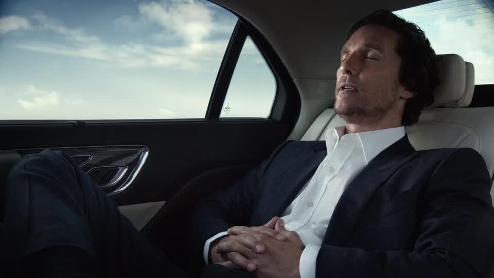 Matthew McConaughey is all about a stylish ride.