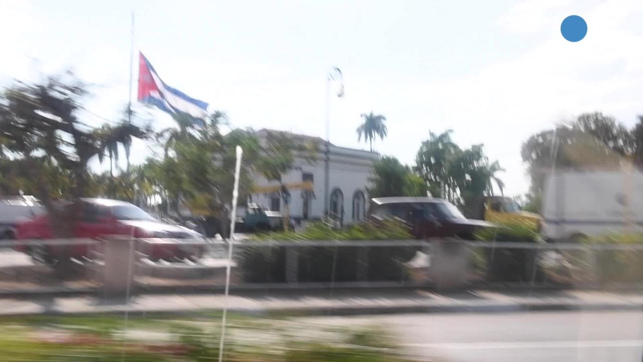 Fidel Castro chose to be interred in eastern Cuba because that was where he was from and where his revolution started. Video by Jack Gruber, USA TODAY