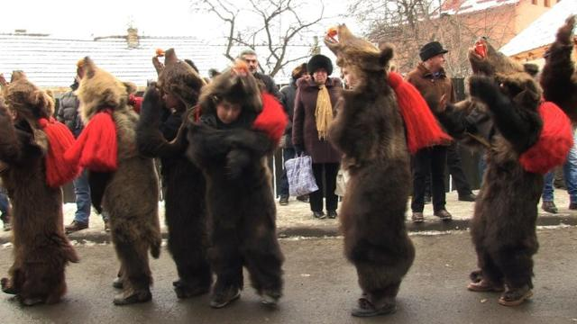 How Some Romanians Chase Away Evil Spirits Before New Year