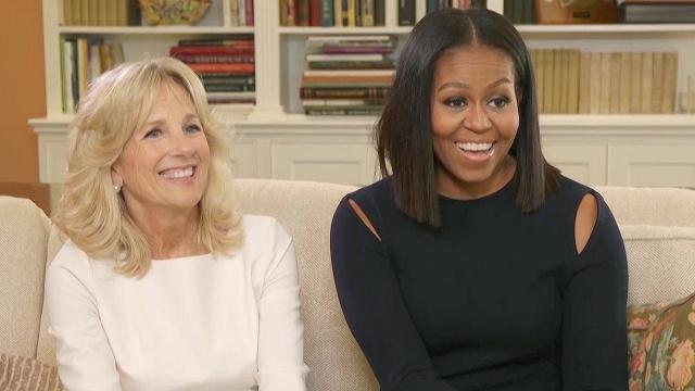 JoeBama: The bromance is real according to FLOTUS and Mrs. Biden