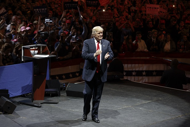 Donald Trump kicks off 'Thank You Tour'