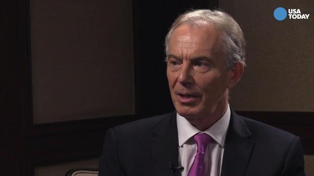 Tony Blair on the Western world's political changes