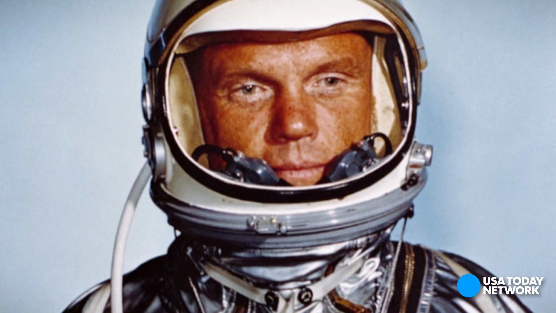 Legendary astronaut and former U.S. Sen. John Glenn died at age 95. A previous version of this video misstated two of Glenn's achievements. He was the first American to orbit the Earth, and he represented Ohio in the U.S. Senate.