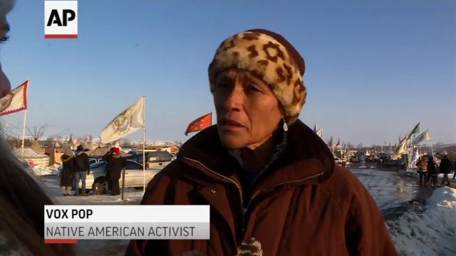 Deadline Looms for Standing Rock Protesters