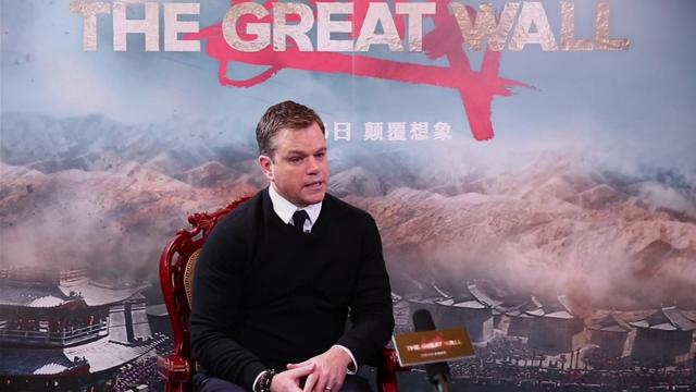 Matt Damon decries fake news era amid criticism for being cast in 'Great Wall'