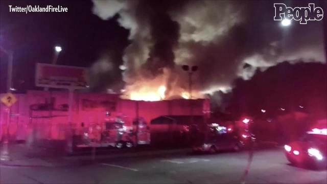 Oakland fire leaves at least nine dead