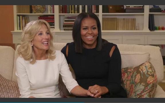 People Magazine sat down with First Lady Michelle Obama and Dr. Jill Biden to discuss their friendship and philanthropy