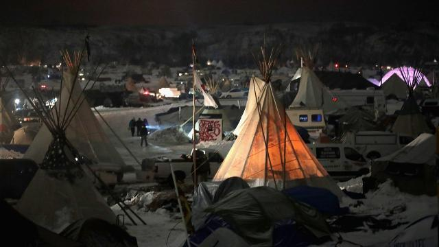 The current route for the Dakota Access pipeline won't be approved