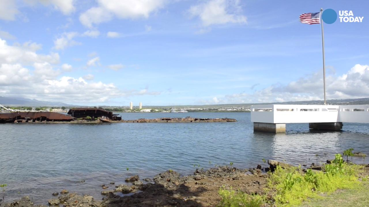 Rarely seen Pearl Harbor memorials