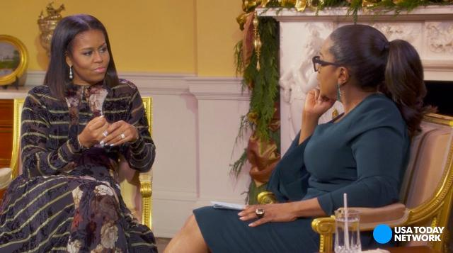 Michelle Obama talks about 'hope' in farewell interview