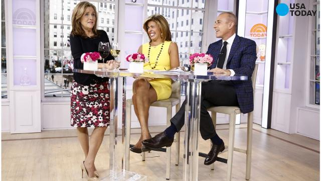 Former anchors Katie Couric and Meredith Vieira are returning to 'TODAY' in 2017 to fill in for Savannah Guthrie, who is out on maternity leave.